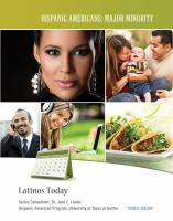 Latinos today  Cover Image