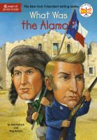 What was the Alamo?  Cover Image