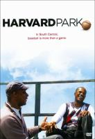 Harvard Park 62nd St. & Denker St., South Central Los Angeles  Cover Image