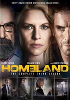 Homeland. The complete third season  Cover Image