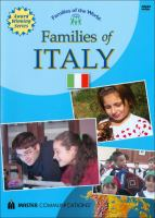 Families of Italy Cover Image