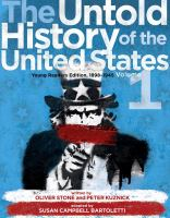 The untold history of the United States : young readers edition Book cover