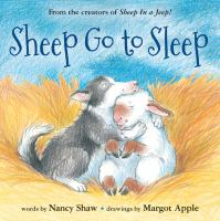 Sheep go to sleep Book cover