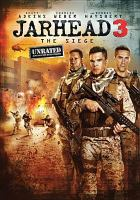 Jarhead 3 : the siege  Cover Image