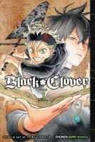 Black clover Book cover