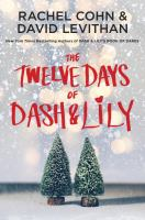 The twelve days of Dash & Lily Book cover
