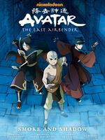 Nickelodeon Avatar, the last Airbender. Smoke and shadow Book cover