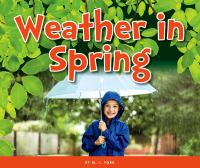 Weather in spring Book cover