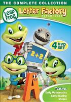 LeapFrog. Letter factory adventures, the complete collection Book cover