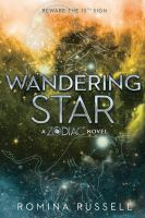 Wandering star : a Zodiac novel Book cover