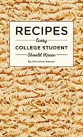 Recipes every college student should know Book cover