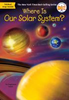 Where is our solar system? Book cover