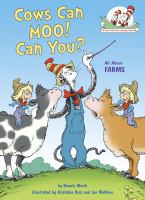 Cows can moo! Can you?  Cover Image
