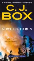 Nowhere to run Book cover