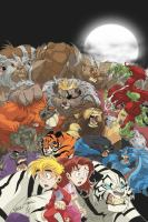 Lions, tigers and bears. [volume 1] : [Fear and pride]  Cover Image
