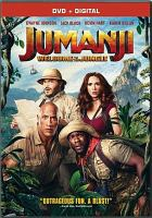 Jumanji. Welcome to the jungle Book cover