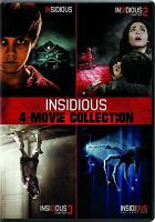 Insidious : 4-movie collection. Cover Image