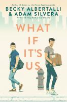 What if it's us Book cover