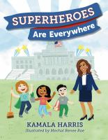 Superheroes are everywhere Book cover