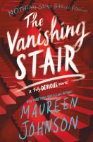 The vanishing stair Book cover