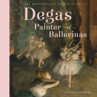 Degas, painter of ballerinas Book cover