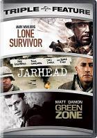 Triple feature : Lone survivor ; Jarhead ; Green zone  Cover Image