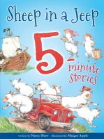 Sheep in a Jeep 5-minute stories Book cover