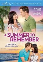 A summer to remember Book cover