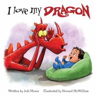 I love my dragon Book cover