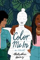 Color me in Book cover