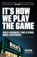 It's how we play the game : build a business, take a stand, make a difference Book cover