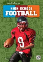 High school football Book cover