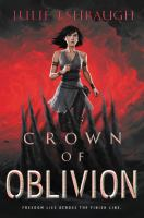 Crown of oblivion Book cover