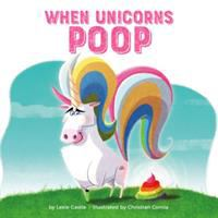 When unicorns poop Book cover