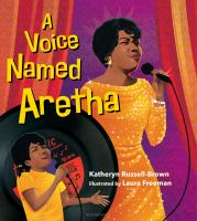 A voice named Aretha Book cover