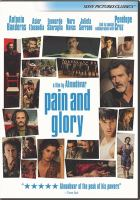 Pain and glory Book cover