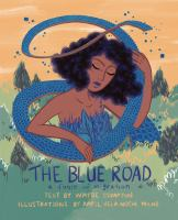 The blue road : a fable of migration Book cover
