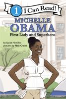 Michelle Obama : First Lady and superhero  Cover Image