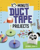 10-minute duct tape projects Book cover