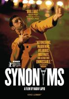 Synonymes = Synonyms  Cover Image