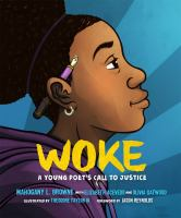 Woke : a young poet's call to justice Book cover