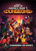 Guide to Minecraft dungeons : a handbook for heroes Book cover