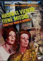 Hasta el viento tiene miedo = Even the wind is afraid Book cover
