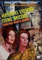 Hasta el viento tiene miedo = Even the wind is afraid  Cover Image