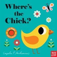 Where's the chick? Book cover