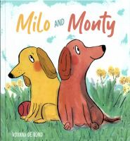 Milo and Monty Book cover