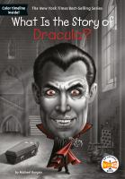 What is the story of Dracula? Book cover