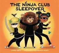 The Ninja Club sleepover Book cover
