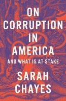 On corruption in America : and what is at stake Book cover
