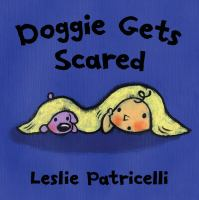 Doggie gets scared Book cover